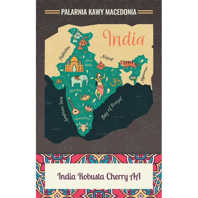 India Robusta Cherry AA Kawa naturalna
