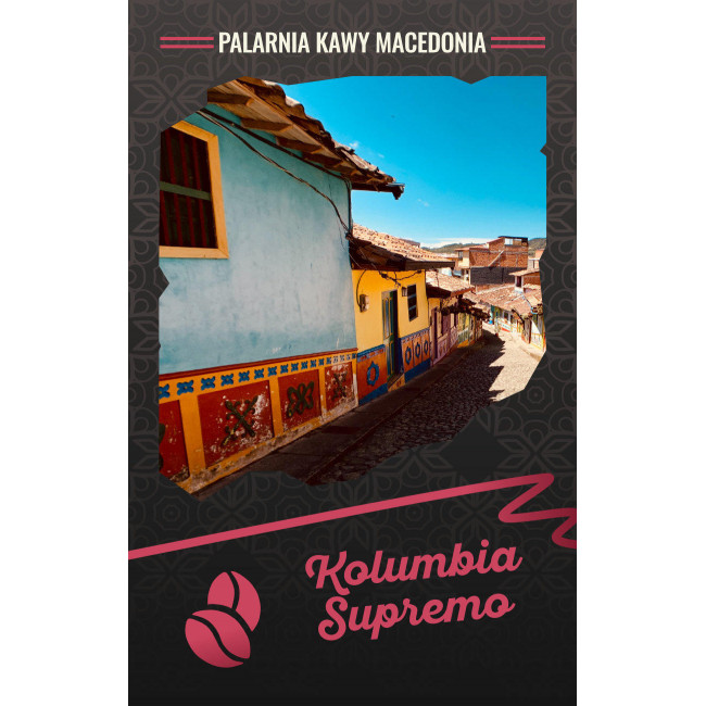 Kolumbia Supremo Kawa naturalna