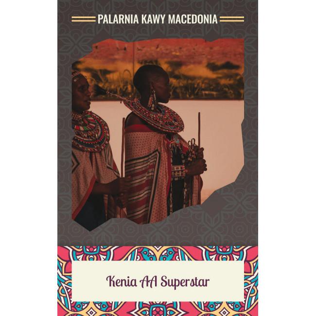 Kenia Superstar AA Kawa naturalna