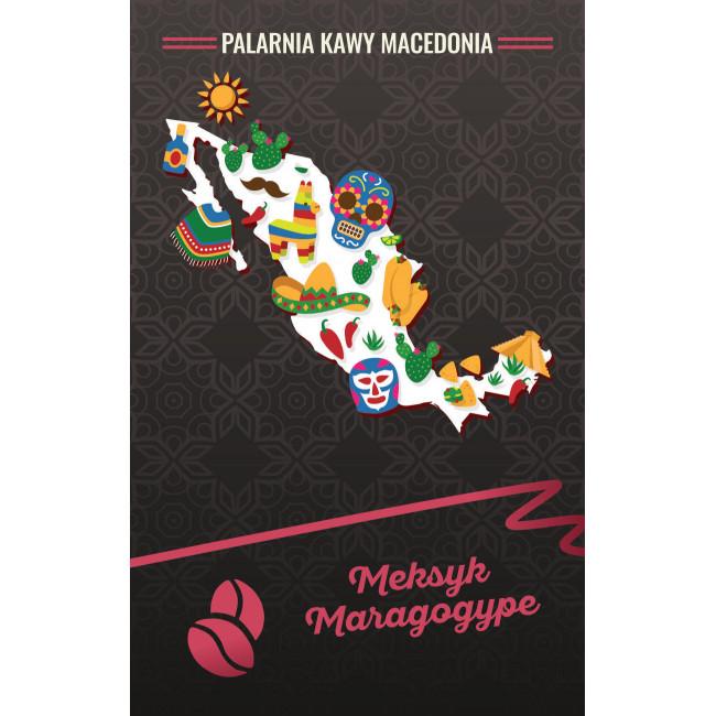 Meksyk Maragogype Kawa naturalna