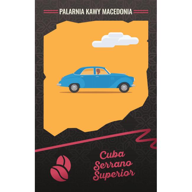 Cuba Serrano Superior Kawa naturalna