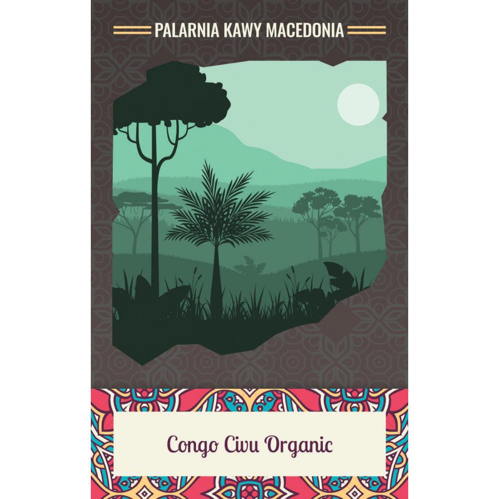 Kongo Kivu Organic Kawa naturalna