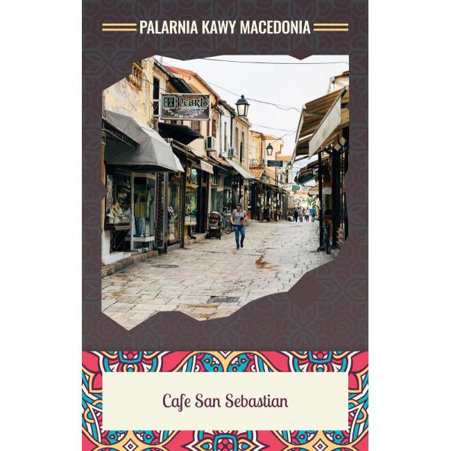 Cafe San Sebastian Kawa naturalna