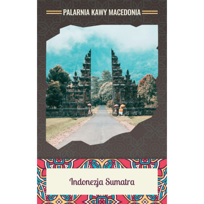 Indonezja Sumatra Lintong Kawa naturalna