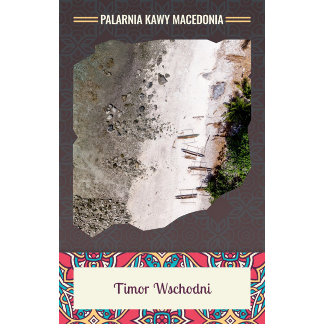 Timor Wschodni Washed Kawa naturalna